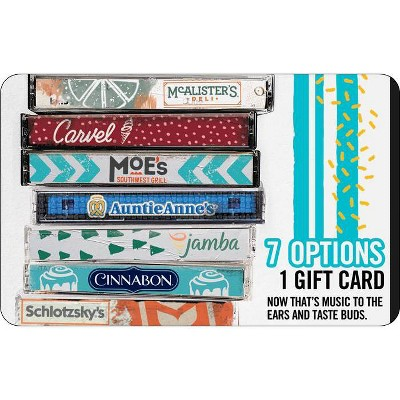 Focus Brands Gift Card $25 (Email Delivery)