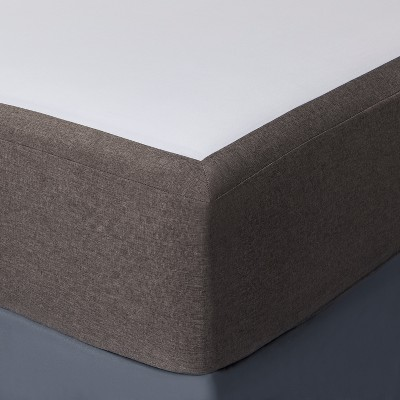 Gray Solid Box Spring Cover (King)- Project 62™