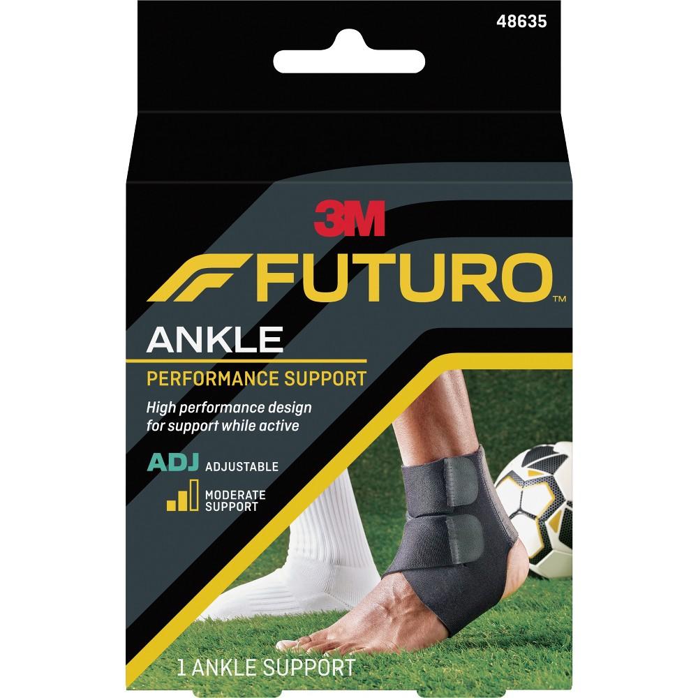 Futuro Performance Ankle Support, Adjustable, Black