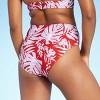 Women's Layered High Waist High Leg Bikini Bottom - Kona Sol™ Multi - image 2 of 4