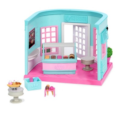 Li'l Woodzeez Scoops & Sprinkles Ice Cream Shop – 18pc Shop Playset
