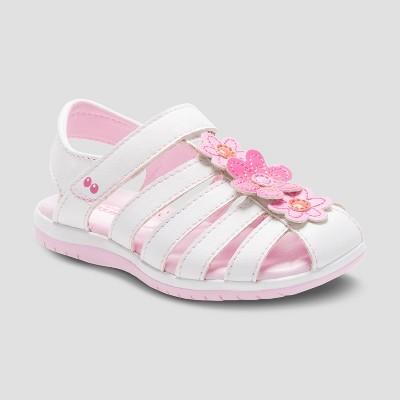 Toddler Girls' Surprize by Stride Rite Joyce Fisherman Sandals - White 6