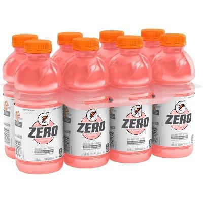 Gatorade G Zero Strawberry Kiwi Sports Drink - 8pk/20 fl oz Bottles