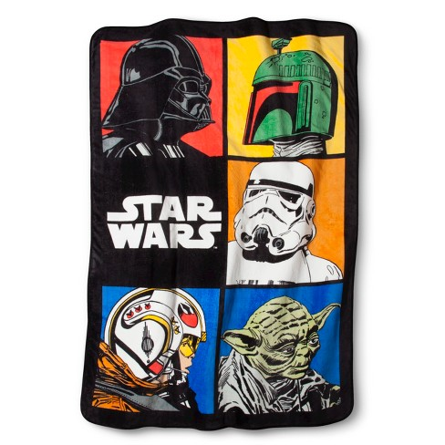 Star Wars Classic Blanket - image 1 of 1