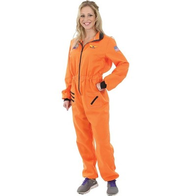 Orion Costumes Women's Orange Astronaut Costume