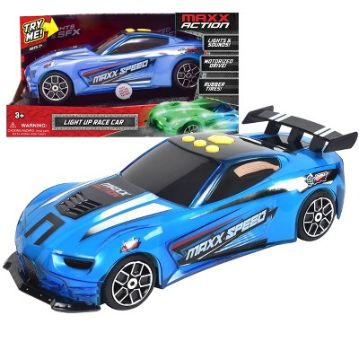 Maxx Action Sports Car Lights & Sounds Motorized Vehicle – Electric Blue