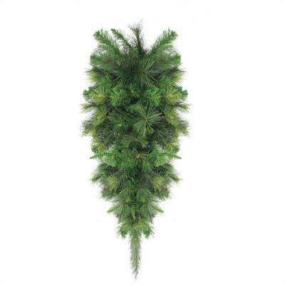 "Northlight 48"" Unlit Canyon Pine Artificial Christmas Teardrop Swag"