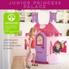 ECR4Kids Junior Princess Palace Playhouse, Pink Castle Play House  Indoor or Outdoor Play - image 3 of 4