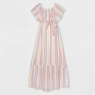 Short Sleeve Woven Maternity Dress - Isabel Maternity by Ingrid & Isabel™