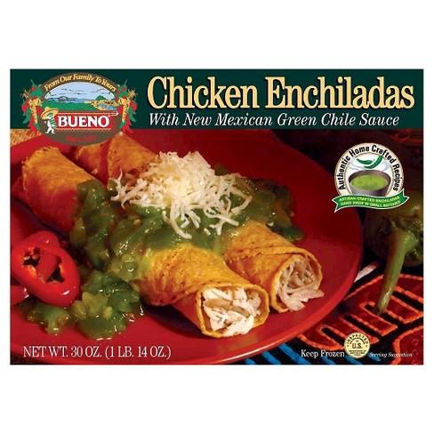 Bueno Green Chile Chicken Frozen Enchiladas - 30oz - image 1 of 1