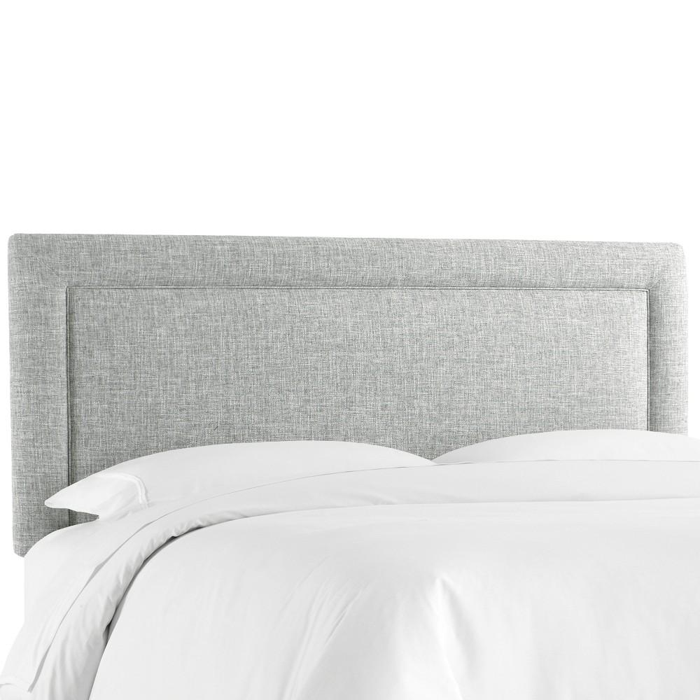 Border Headboard - Pumice - California King - Skyline Furniture Promos