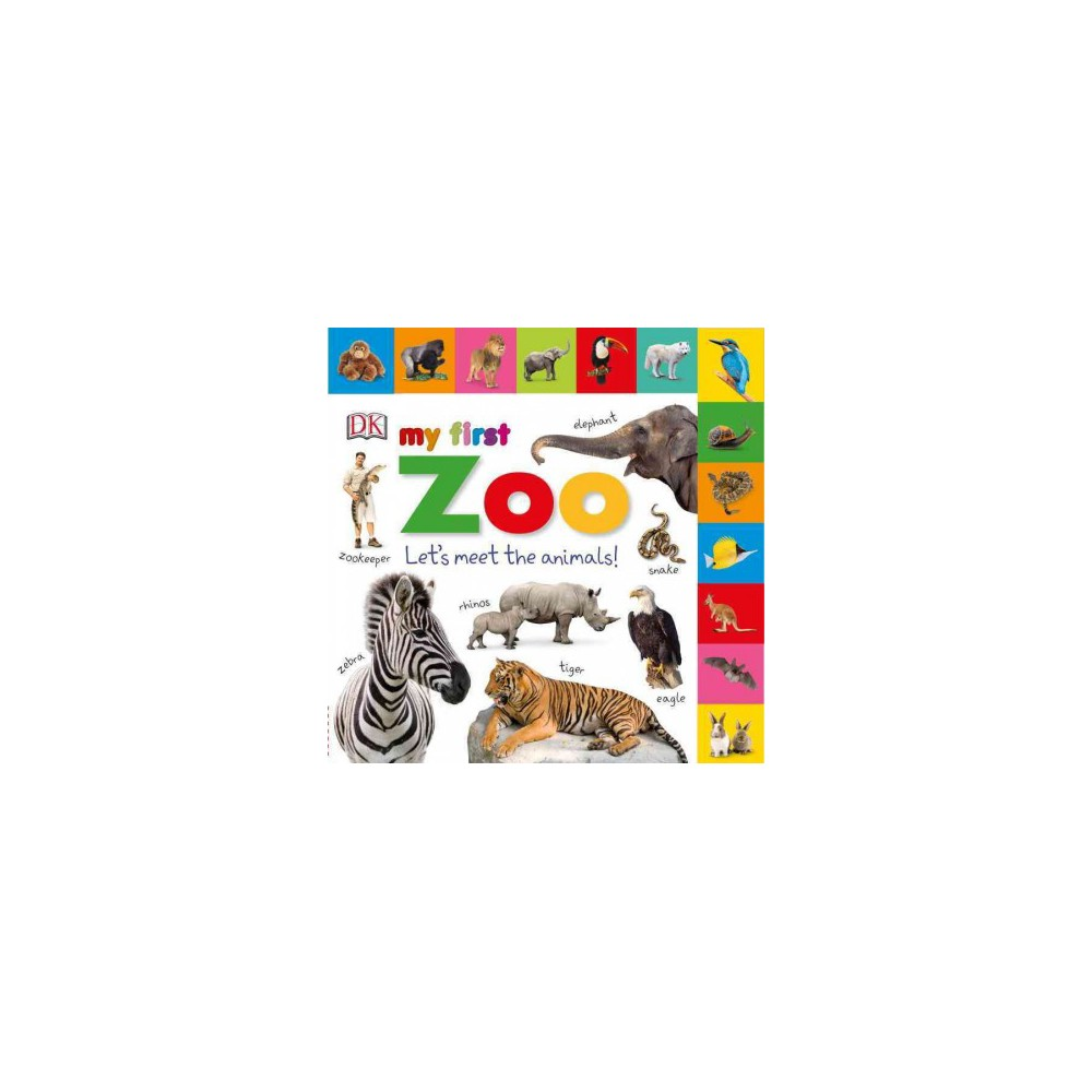 My First Zoo : Let's Meet the Animals! (Hardcover)