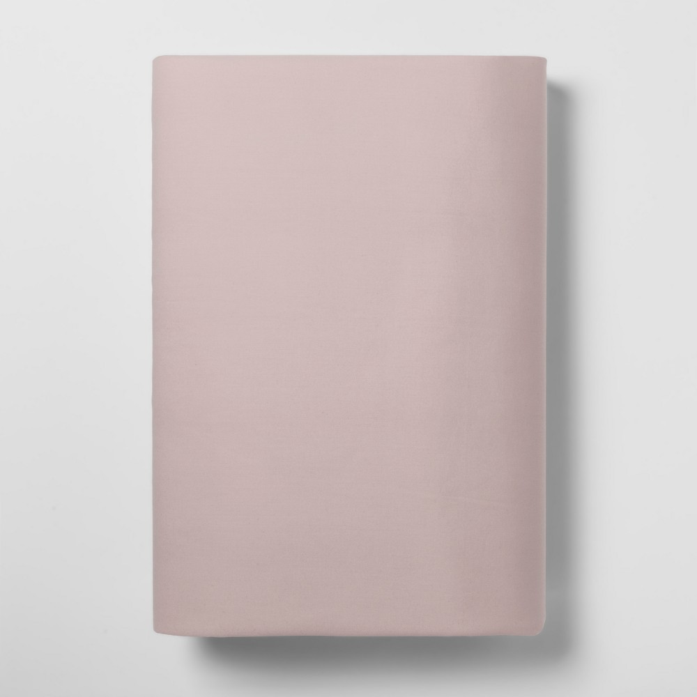 Image of Twin XL 300 Thread Count Ultra Soft Fitted Sheet (Twin Extra Long) Soft Pink 300 Thread Count - Threshold