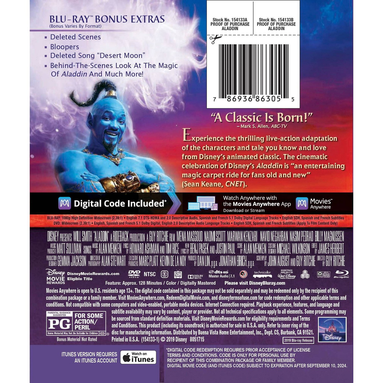 Aladdin 4K UHD (2019) - Page 6 - Blu-ray Forum