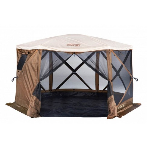 Quick-Set Escape 11x11 ft. Sky Camper Portable Gazebo Canopy Shelter with Floor - image 1 of 3