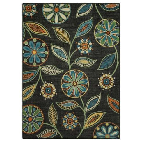 Floral Winslow Tufted Rug - Maples - image 1 of 3