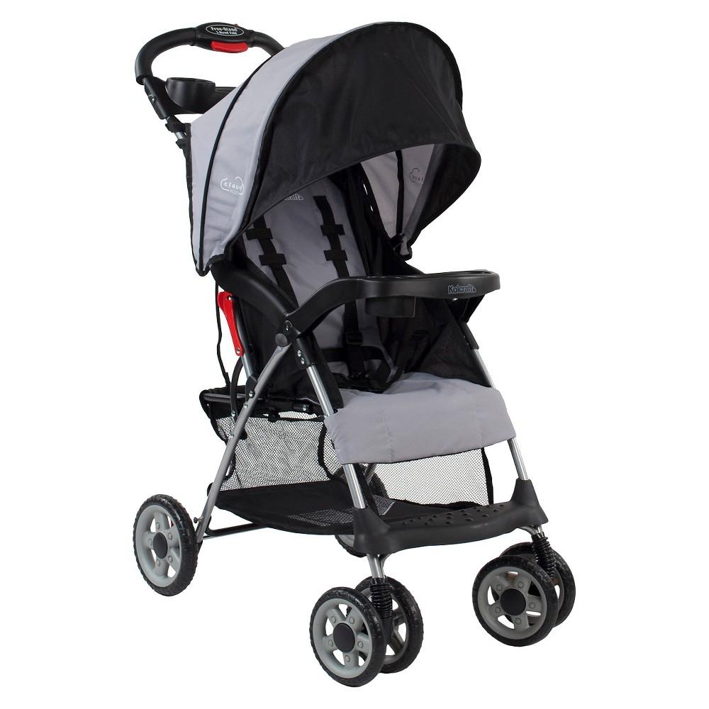 Image of Kolcraft Cloud Plus Lightweight Stroller - Slate, Grey