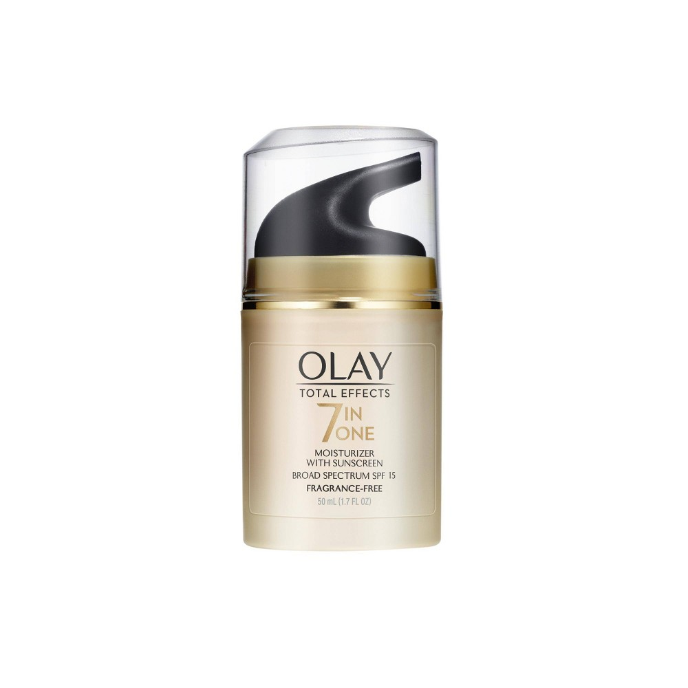 Unscented Olay Total Effects Anti Aging Face Moisturizer With Spf 15 1 7 Fl Oz