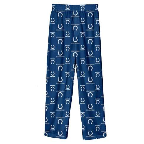 NFL Indianapolis Colts Boys' Team Pride All Over Print Lounge Pants - image 1 of 1