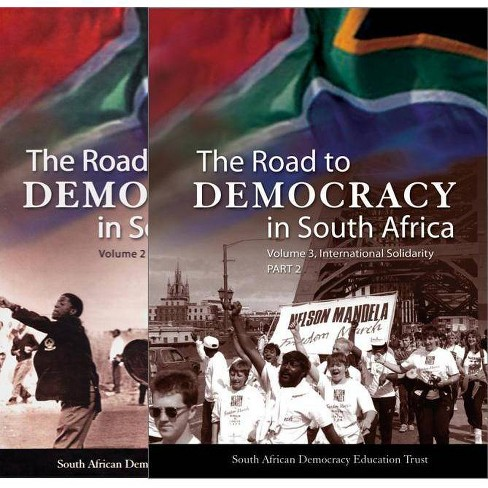 The Road to Democracy in South Africa - (Hardcover) - image 1 of 1