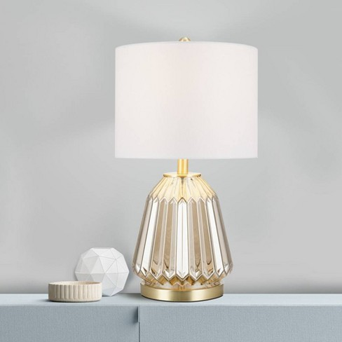 Glass Table Lamp Champagne  - Cresswell Lighting - image 1 of 3