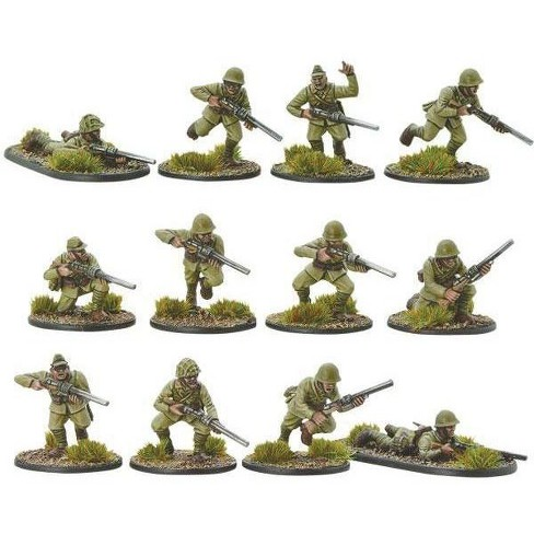 Japanese Infantry with Compression Rifles Miniatures Box Set - image 1 of 1
