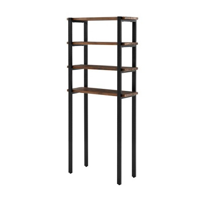 Pomona Over The Toilet 4-Shelf Bath Storage - Alaterre Furniture