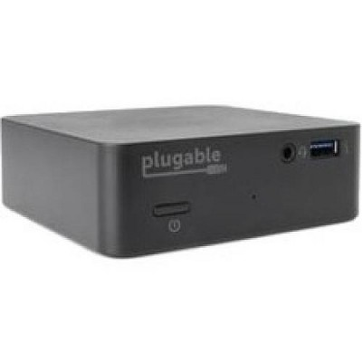 Plugable USB-C Mini Docking Station with 85W Power Delivery - for Notebook/Tablet PC - 85 W - USB 3.1 Type C - 5 x USB Ports - 4 x USB 3.0