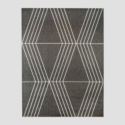 5' x 7' Tilt Outdoor Rug Gray - Project 62™