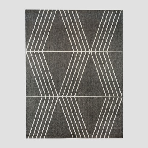 7' x 10' Tilt Outdoor Rug Gray - Project 62™ - image 1 of 4