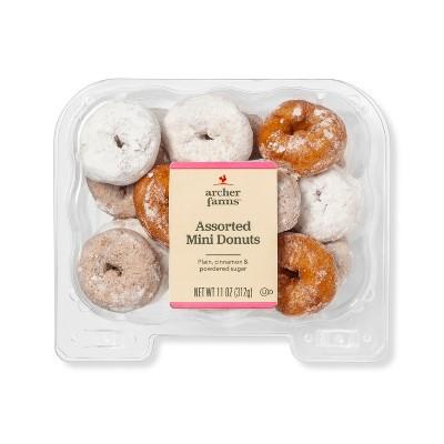 Assorted Mini Donuts - 11oz - Archer Farms™