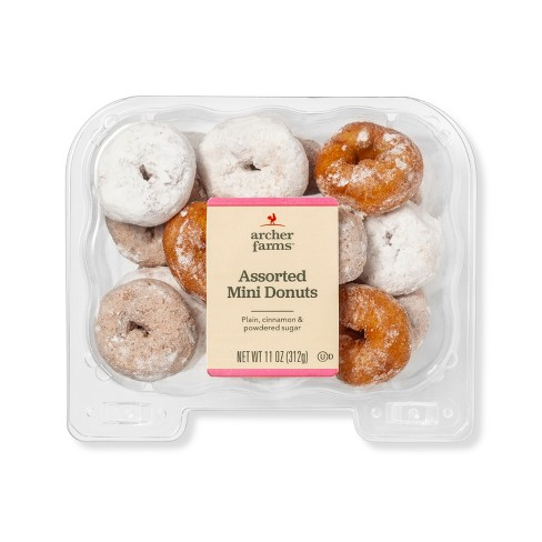 Assorted Mini Donuts - 11oz - Archer Farms™ - image 1 of 1