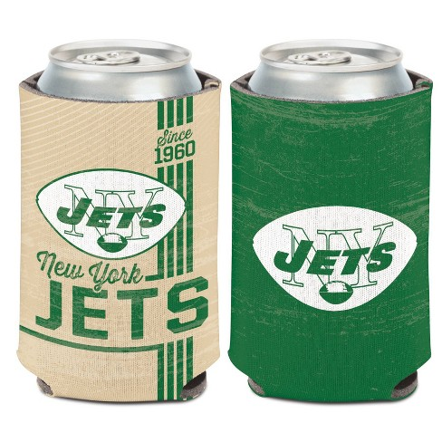 NFL New York Jets Retro Can Cooler - image 1 of 1