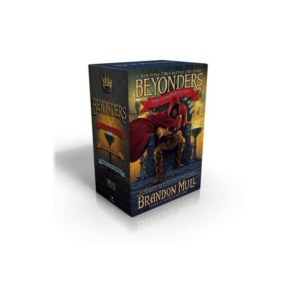 Beyonders The Complete Set By Brandon Mull Paperback