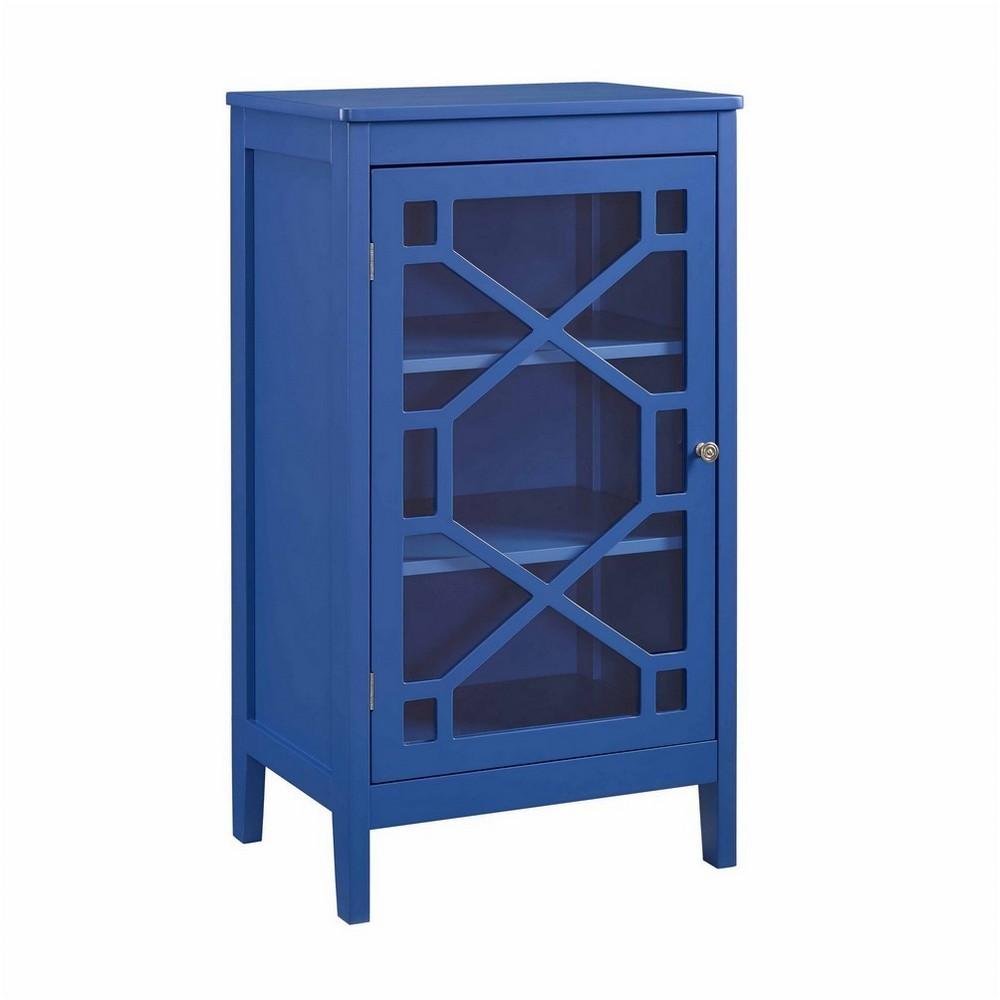 Fetti Small Cabinet Blue - Linon