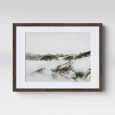 "17"" x 13"" Mountains Framed Print - Threshold™"