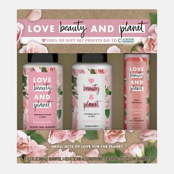 Love Beauty And Planet Muru Muru Rose Shampoo + Conditioner and Dry Shampoo Gift Pack