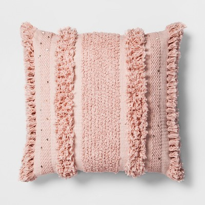 Pink Tufted Oversize Throw Pillow - Opalhouse™