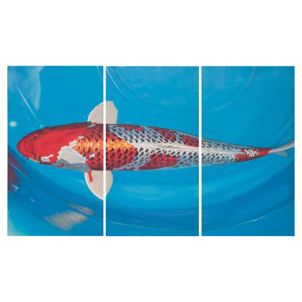 Go Fish Triptych Wall Art - Safavieh, Multi-Colored