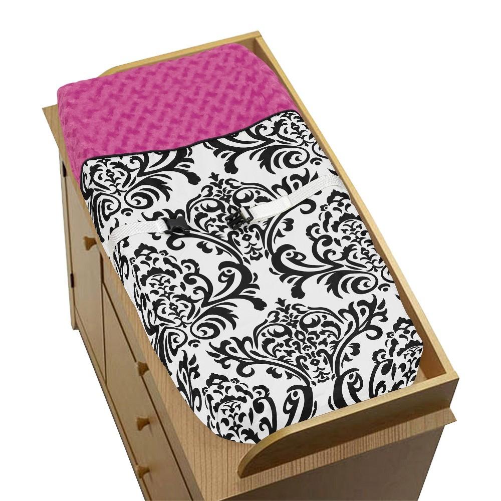 Sweet Jojo Designs Changing Pad Cover - Isabella Pink