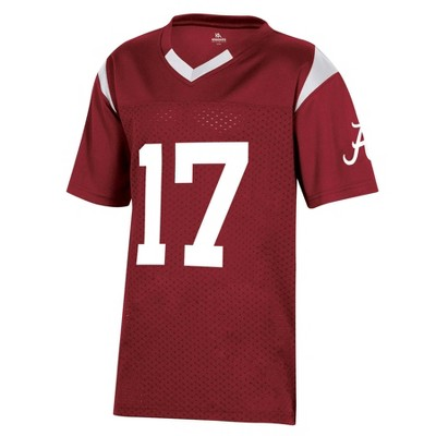 NCAA Alabama Crimson Tide Boys' Short Sleeve Jersey