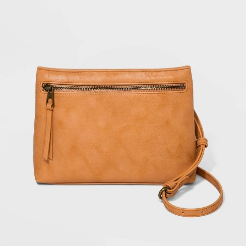 Zip Closure Crossbody Bag - Universal Thread™ - image 1 of 3