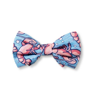 Lobsters Collar Slide Pet Bow Tie - Blue/Red - One Size - vineyard vines® for Target