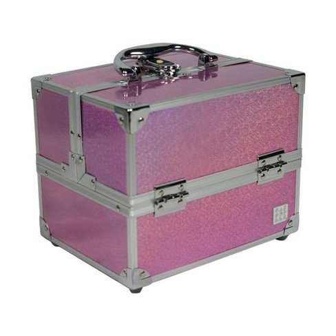 Caboodles Train Case - Holographic Pink - image 1 of 2