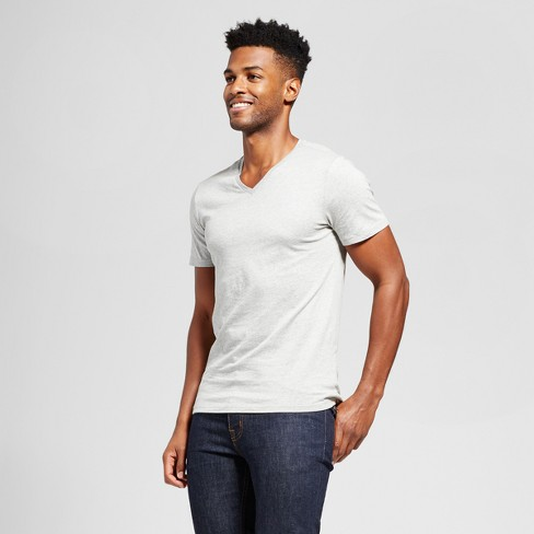 f08f82061f446 Men s Slim Fit Solid V-Neck T-Shirt - Goodfellow   Co™   Target