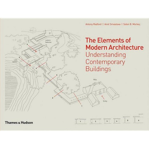 The Elements of Modern Architecture - by  Antony Radford & Amit Srivastava & Selen B Morkoc (Hardcover) - image 1 of 1