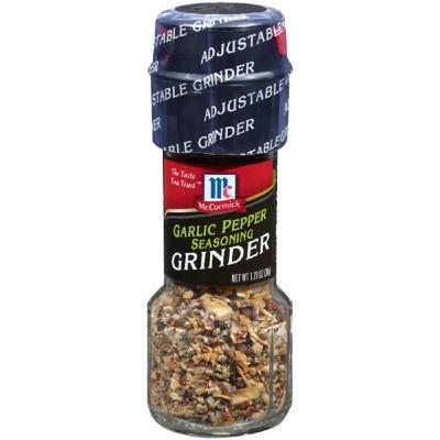 McCormick Garlic Pepper Seasoning Grinder - 1.23oz