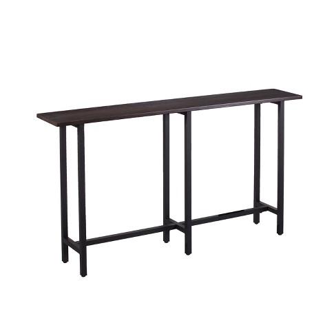 Wondrous Harley Long Narrow Console Table Espresso Brown Aiden Lane Beatyapartments Chair Design Images Beatyapartmentscom