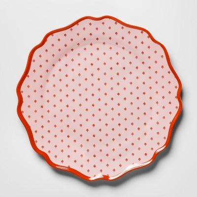 Melamine Dinner Plate 10.5  Pink/Red - Opalhouse™
