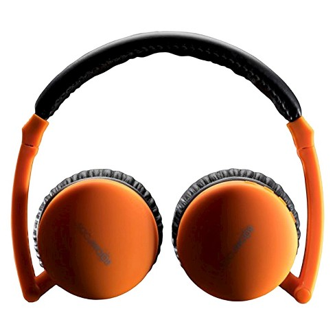 BoomPods AirPods Bluetooth Foldable Headphone - Orange - image 1 of 1